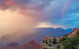 Monsoon storm, Grand Canyon National Park, AZ