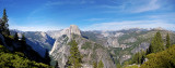 Glacier Point view, Yosemite National Park, CA