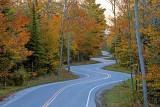 Route 42 near Gills Rock,  Door County, WI