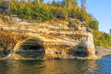 Bloody Chiefs Caves, Pictured Rocks National Seashore, MI