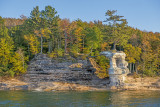 Chapel Rock Pedestal, Pictured Rocks National Lakeshore, MI