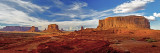 View from John Ford Point, Monument Valley, NavajoTribal Park, AZ
