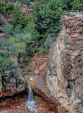 Wilson Canyon, a tributary of Oak Creek Canyon, Sedona, AZ