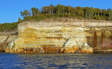 Painted Cliffs, Pictured Rocks National Lakeshore, MI