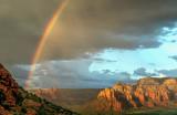 Rainbow over Mitten Ridge, Sedona, AZ
