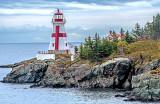 East Quoddy Head Lighthouse, Campobello Island, NB, Canada