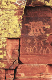 Bobcat Petroglyph, AZ