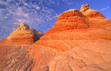 Buttes in White Pocket, Vermilion Cliffs National Monument, AZ