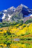 (CR36) Maroon Bells reflection, Aspen, CO