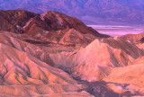 (AR1) Badlands at Zabriskie Point , Death Valley National Park, CA