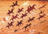 Navajo pictographs, AZ