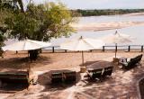 Uitzicht op Rufiji River