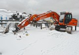 Doosan in Snow