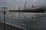 M/S Kallio in Winter Fog
