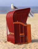 Standkorb - beach chair