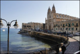 On the way to Valletta