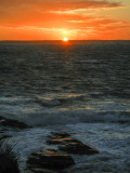 sun setting 738