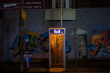 Night Phone Booth on Nassau Street Revisited