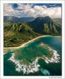 Aerial View I, North Shore, Kauai, 2013