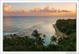Daybreak, Kee Beach, Kauai, 2013
