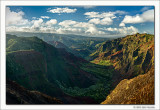 Grand Canyon of the Pacific, Kauai, 2013