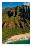 Napali Coast Aerial View II, Kauai, 2013