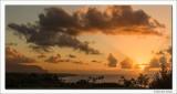 North Shore Sunset, Kauai, 2013