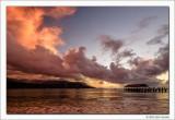 Twilight, Hanalei Bay, Kauai, 2013