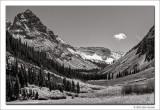 West Marooon Creek Valley, Maroon Bells Snowmass Wilderness, Colorado, 2013