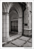 Arch and Door, First United Methodist Church, Fort Worth, TX, 2014