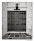 Doorway, First United Methodist Church, Fort Worth, TX, 2014