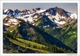 McCartney Peak and Lillian Glacier, Olypmic National Park, Washington, 2014