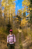 In the Aspens on the Blaine Basin Trail