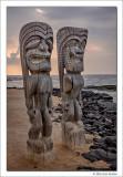 Ki'i, Pu'uhonua o Honaunau, Hawaii, 2016