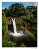 Rainbow Falls, Hawaii, 2016