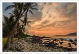 Sunset, Manini Beach, Hawaii, 2016