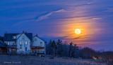 Moonrise in Rural Pennsylvania