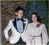 Mike and Vicki at Prom