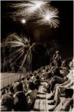 Fireworks at Legion Baseball Field