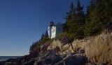 Maine- Bass Harbor Light built  1858