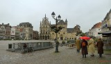 MECHELEN  ARCHITECTURE ON A OVERCAST DAY