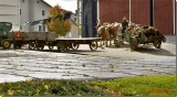 Lancaster Pa  Amish Farmer  Ready to spread manure