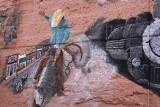 Wall art in Williams Arizona