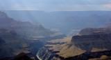Colorado River passing through the Grand Canyon