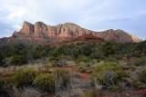 Sedona Red Rock in evening light