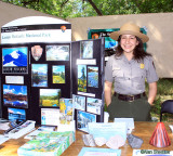 Nation Park Service rep from Lassen Volcanic National Park
