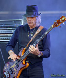 Pete Sears, Moonalice, on his bass that was missing for 35 years