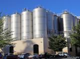 Sierra Nevada Brewery fermenting tanks
