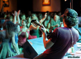 Brothers Comatose's Ryan Avellone and crowd