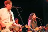 Donna the Buffalo's Jeb Puryea, Kyle Spark, and Tara Nevins